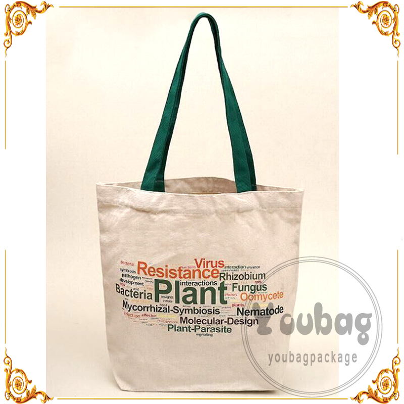 Custom luxury jute tote bag with gold stamping LOGO
