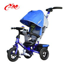 2017 kids toddler trike with handle/baby trike bike with EVA tire/CE 4 in 1 trikes for toddlers