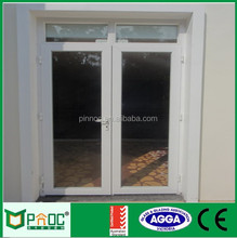 German hardware aluminium hinged casement doors and windows with tempered reflective glass and AS2047/CE certificates