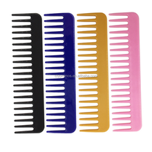 Wholesale Personalized Plastic Wide Tooth Hair Comb