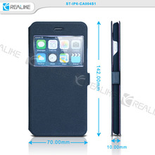 mobile phone accessory private label window case,transparent case for iphone 6 plus,Mobile for iPhone 6 Case