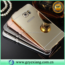 Popular Clear Mirror Aluminum Bumper Case For Samsung Galaxy Mega 6.3 Cheap