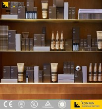 Cosmetic display storage cabinets and design showcases