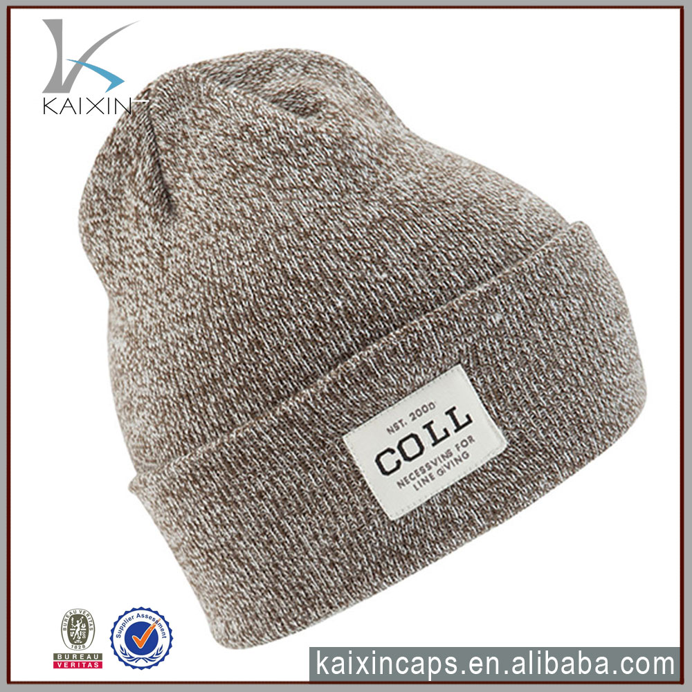 custom winter knitted wool hat for men amd women /wholesale knitted beanie hat/cheap colorful beanie cap