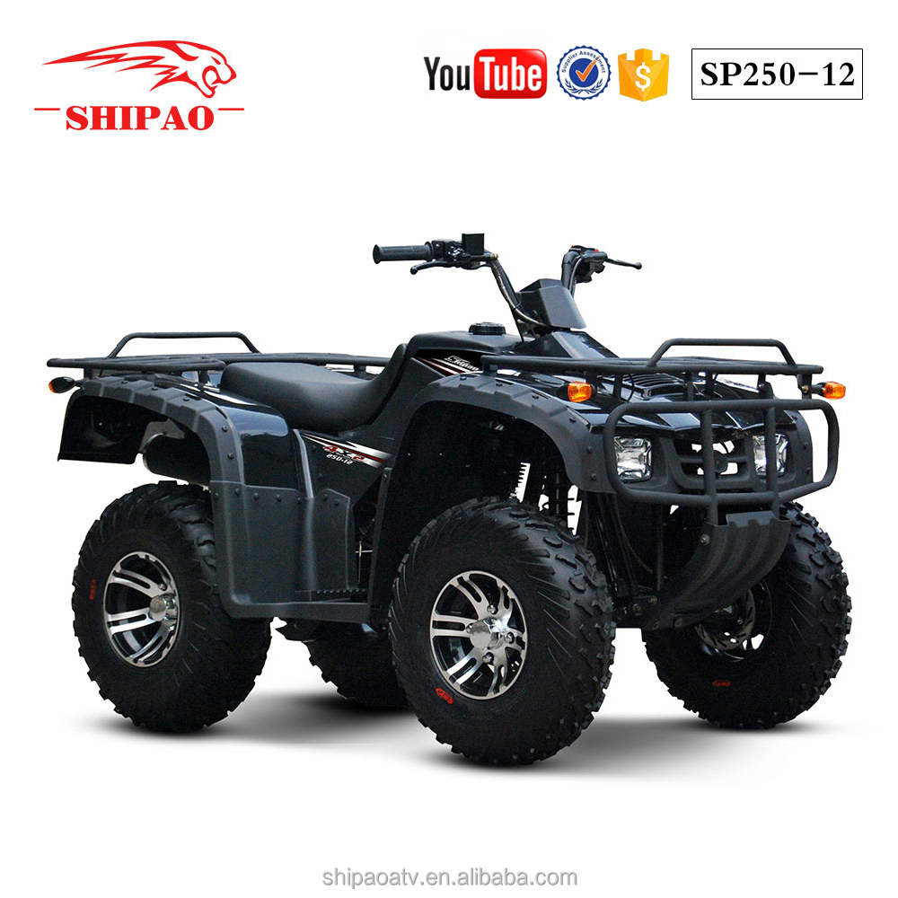 SP250-12 Shipao classic best seller atv quad bike 250cc