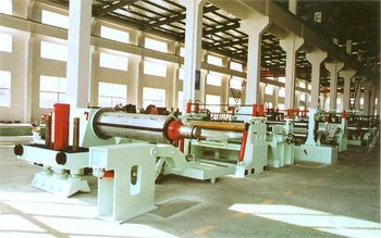 steel coil slitting and rewinding line