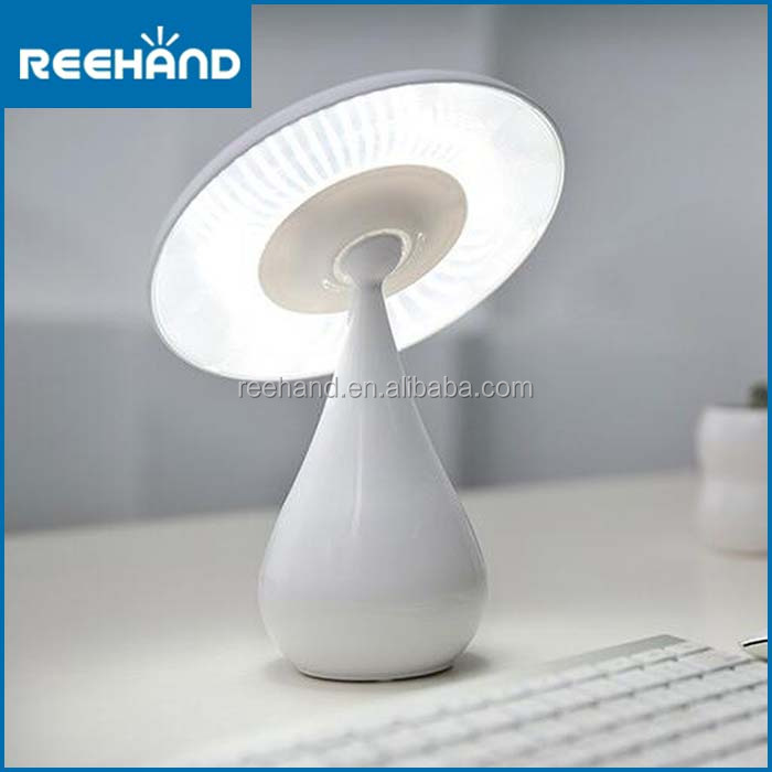 2017 New design mushroom air purifier lamp touch control led table lamp