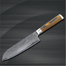 NK KD00507J Japanese Santoku knife Damascus chef knife 7 inch kitchen knife accessories