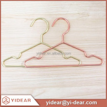 Yidear fashion children / kids cloth display metal wire hanger for kids