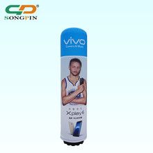 2018 wholesale advertising lamp post promotion LED light custom inflatable column
