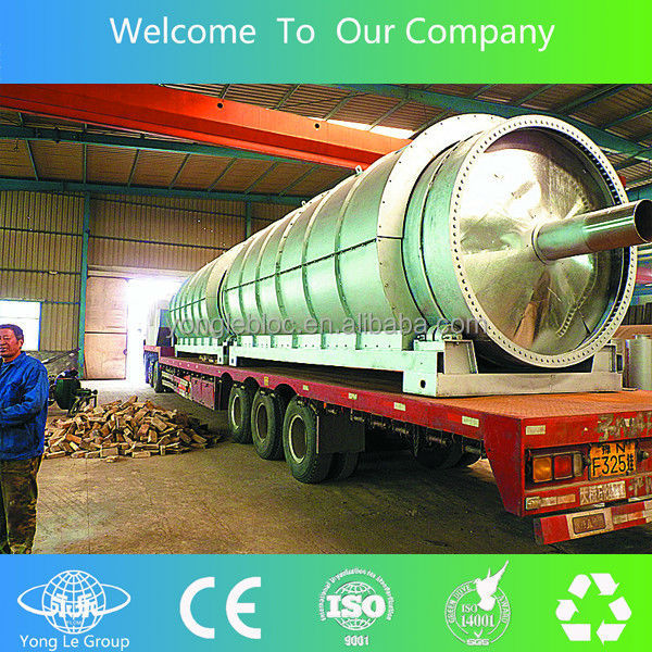 construction waste recycling plant to furnace oil with CE