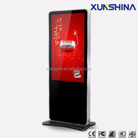 Floor standing 55 inch touch screen kiosk price