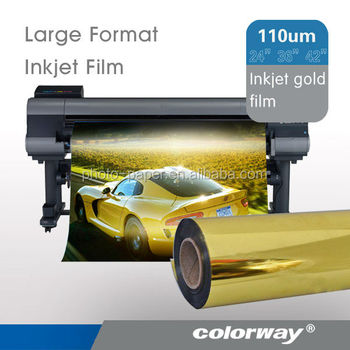best seller inkjet gold film for photo printing