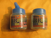 Brand New High grade 1000 pcs non bio plastic airsoft bbs GB4020W for sale