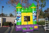 Hot sale cartoon theme inflatable jumping castle bouncer M2053