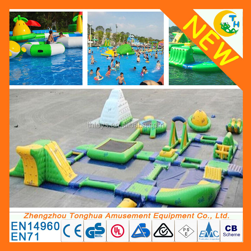 inflatable water park aquatic park for adults