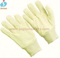 Best selling product cotton dots cotton glove latex