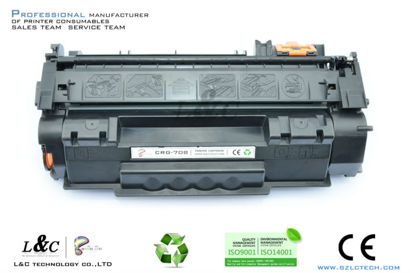 supply premium toner cartridge printer cartridge For Canon CRG708 Toner