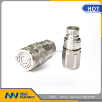 flat face quick connect coupling/hydraulic quick coupler /quick fittings