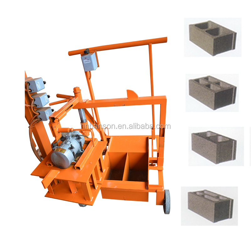 Manual mini High quality paver concrete cement brick block making machinery in kenya with lowest price