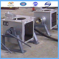 MF series Convenient to tilt and pour induction lead metal melting furnace