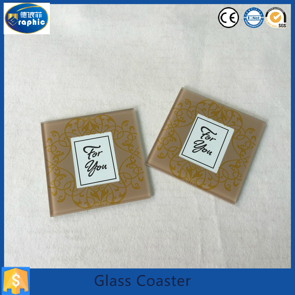 glass mats \& coaster with photo frame