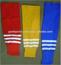 Men's Knitted Custom Ice Hockey Socks for Sale