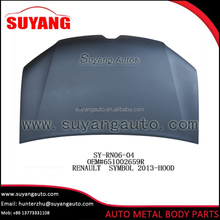 Steel Engine Hood Auto Parts For Renault Symbol 2013-