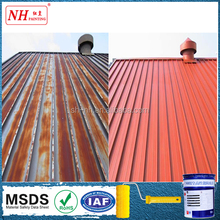 Highly reflective heat insulation paint for roof with hot resiastance