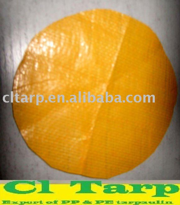 yellow pe tarpaulin for tent, bag, truck cover and etc