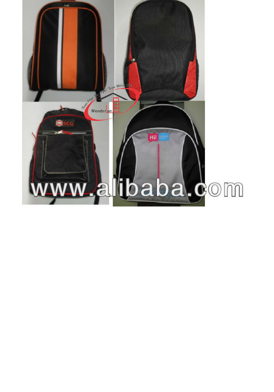 laptop backpacks, travel bags, dragging suitcases