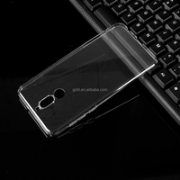 Phone accessories transparent crystal ultra thin soft flexible TPU phone case 0.5mm pouch for huawei HONOR 7I