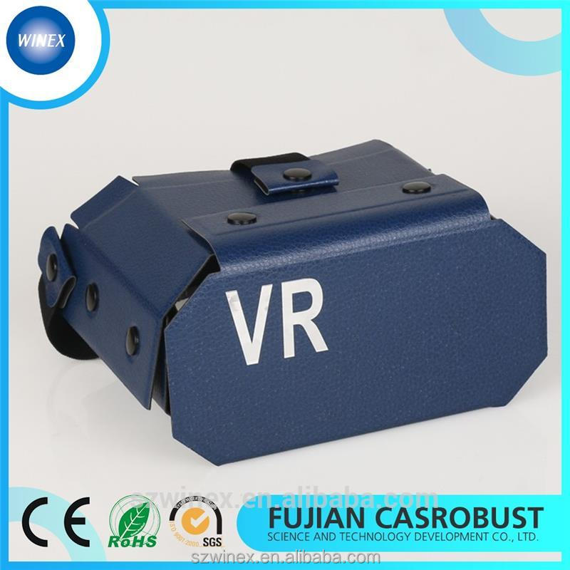 Professional New Matrial Google Cardboard 2.0 with CE certificate