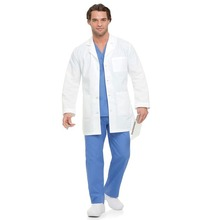 White Lab Coat For Medical Hospital Uniforms Doctor Gown