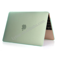 Laptop Rubberized Hard Shell Cover Case for macbook 12 inch case mix color