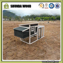 SDC011 Wooden Pet House, Outdoor Large Rabbit Hutch, Wholesale China Chicken Coop