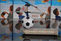 Football soccer shaped rc indoor flyer remote control toy mini flyer