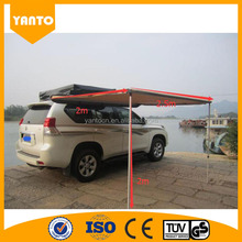 High Quality PVC Retractable camping car side rain awning for sale