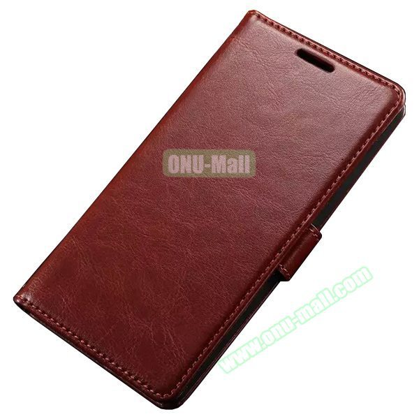 Oil Coated Wallet Style PU Leather Phone Case Cover for LG G4 Flip Cover