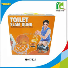 Mini SLAM DUNK Toilet Basketball Shooting Game Party Potty Putter Gift