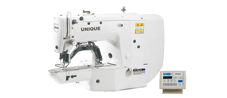 UN1900ASS computer controlled high speed bartack machine bar tacking sewing machine