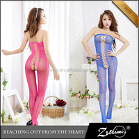Wholesale Sexy Bodystocking Mix Color Cheap Baby Doll Sexy Mature Woman Lingerie