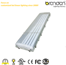 100W 150W ip65 led vapot proof light fixture emergency led tri-proof light tube with UL cUL