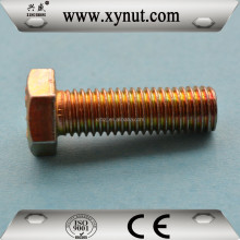 Gr4.8 8.8 10.9 Hex Bolt Din 933 M22 M24 full thread Manufactory China