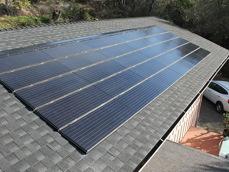solar panel mounting hooks on tile roof