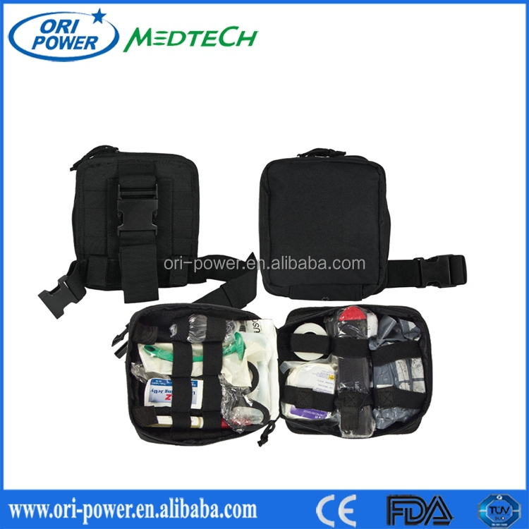 FDA approved outdoor camping army first aid bag