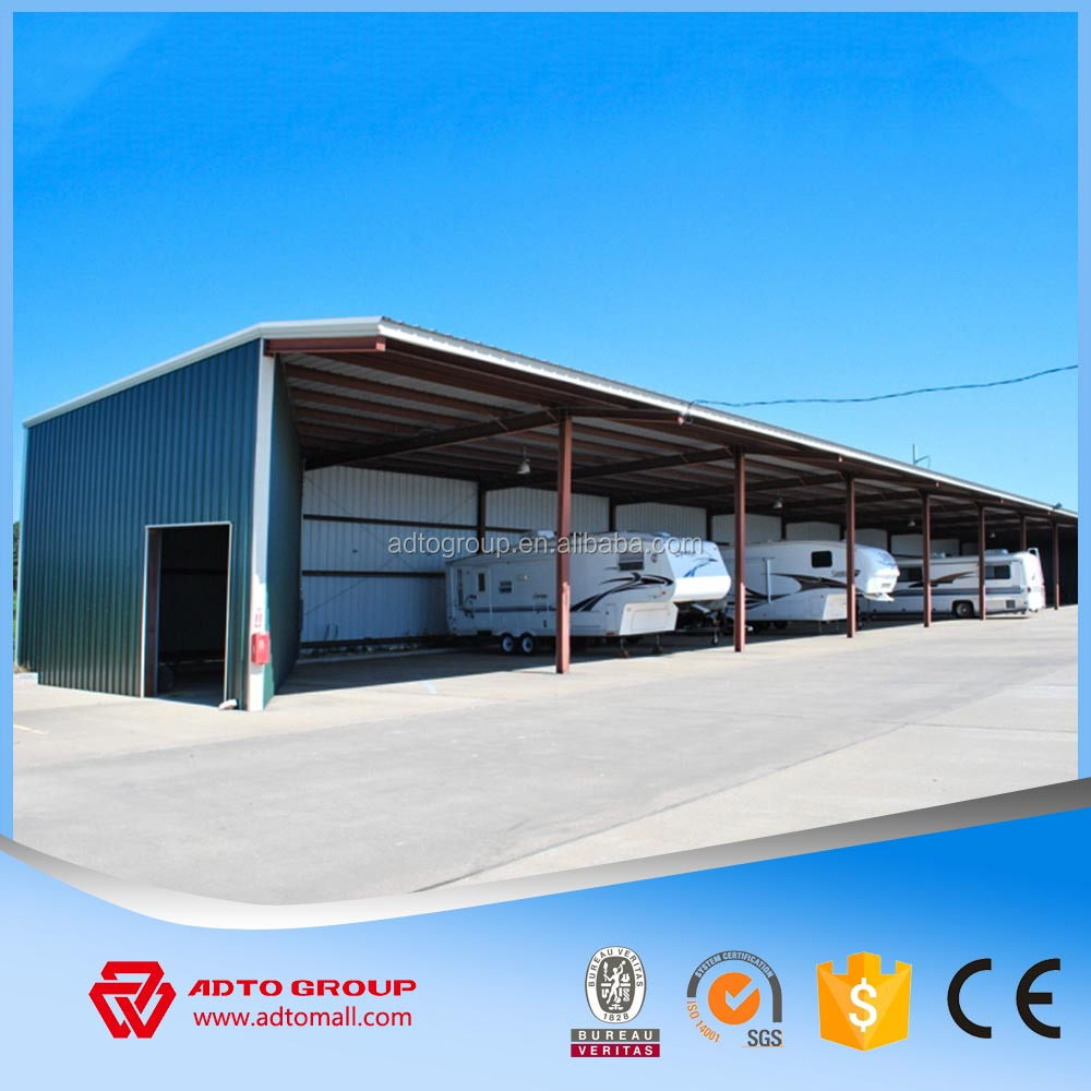 Leading Professional prefabricated warehouse materials manufacturer large span steel frame building one stop construction produc