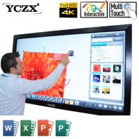 CE FCC ROHS anti glare portable interactive smart whiteboard infrared LED board with cheap price for sale