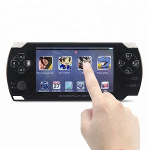 8GB 4.3 inch touch screen Handheld Video Game Console build in 1200no-repeat game for PS1/Arcad/flash/gba/fc/gbc/smd/sfc MP3/4