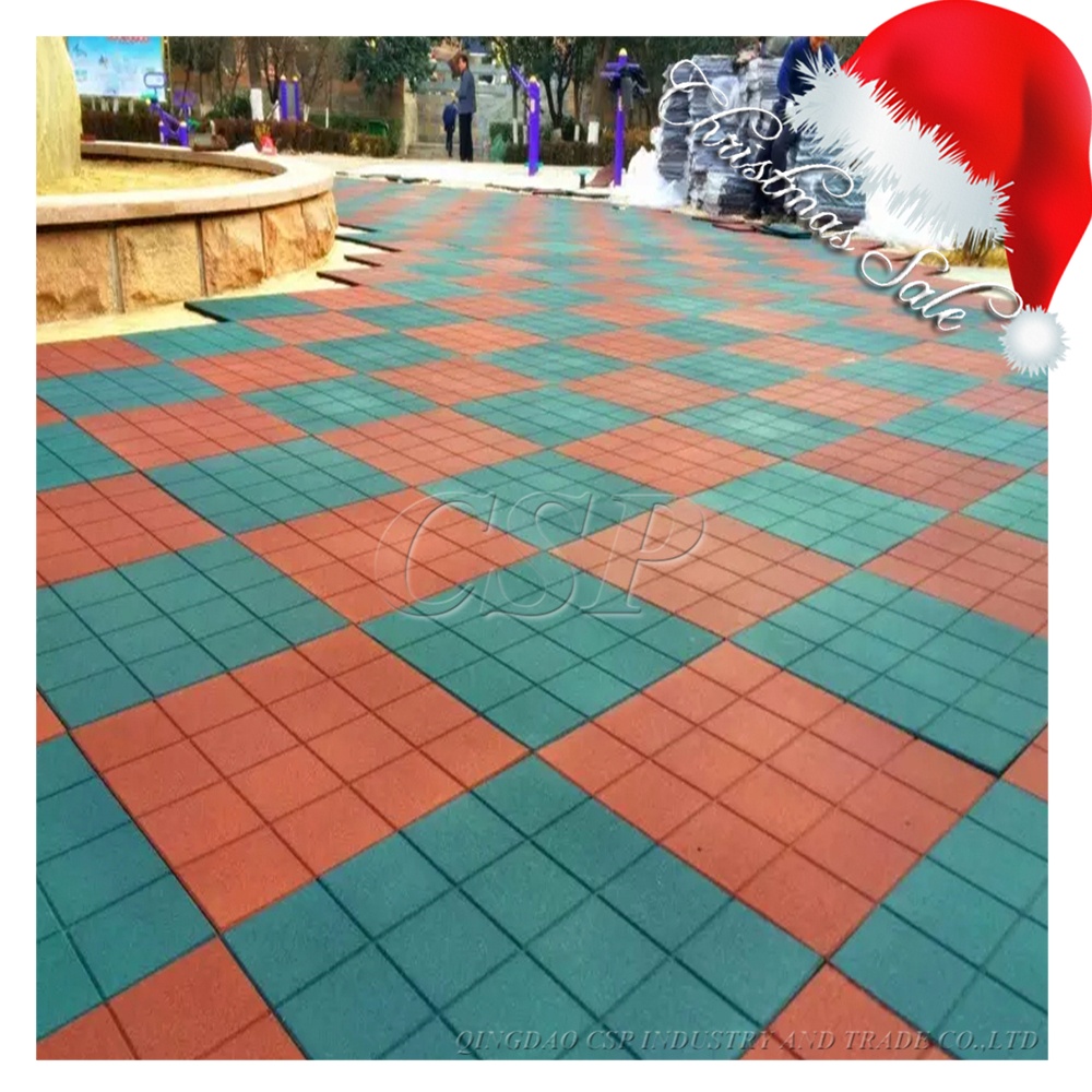 Good looking outdoor rubber floor tile,basketball courts rubber flooring